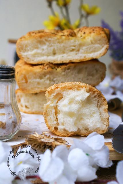 Impasto con Nutrifree pane per realizzare panini bianchi senza glutine