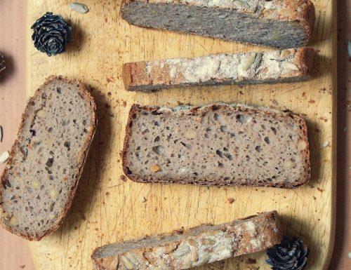 Pane alle castagne e pinoli senza glutine