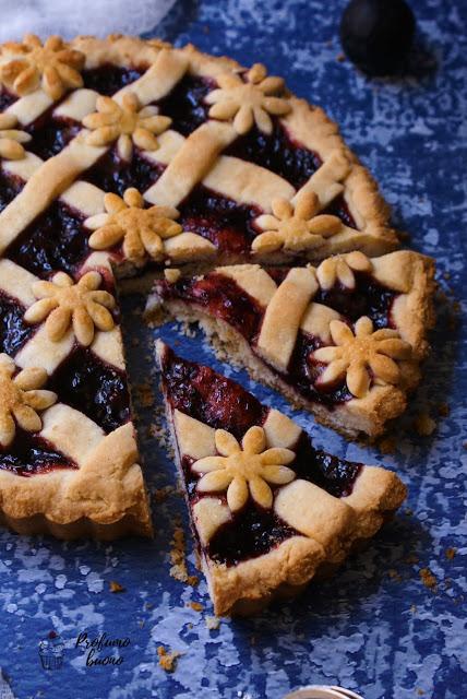 Gluten free blueberry tart
