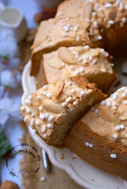 Gluten free almond glazed bundt cake
