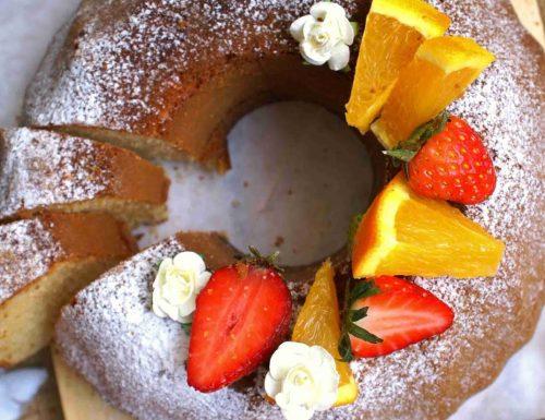 Gluten free orange bundt cake