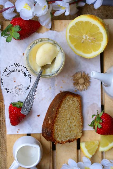 Crema pasticcera al limone senza glutine