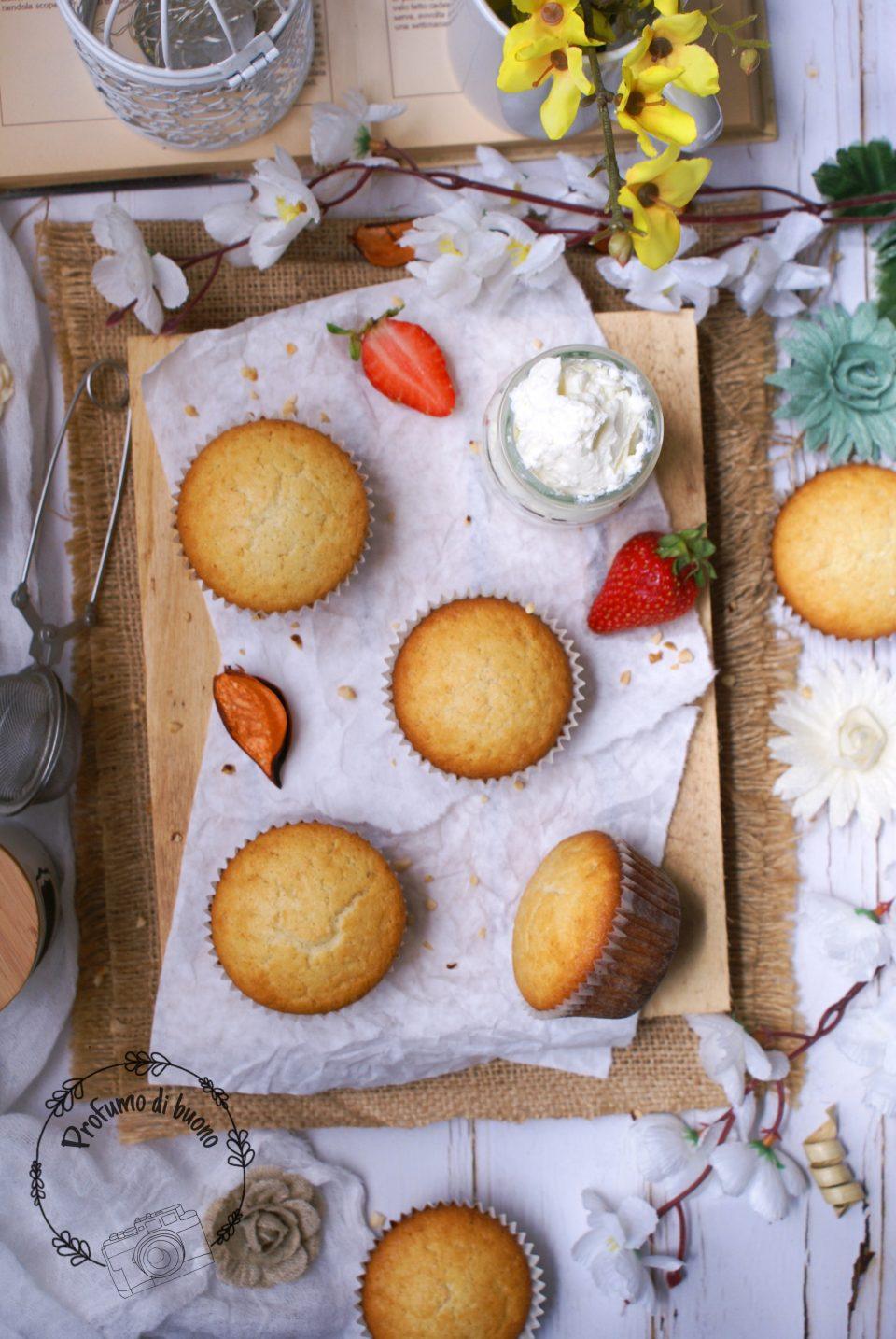 Cupcake senza glutine semplici da farcire