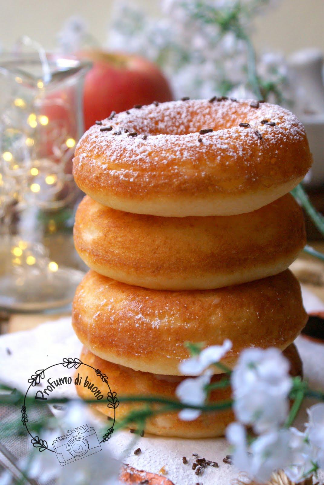 Donut al forno senza glutine