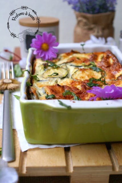 Greek yogurt baked frittata