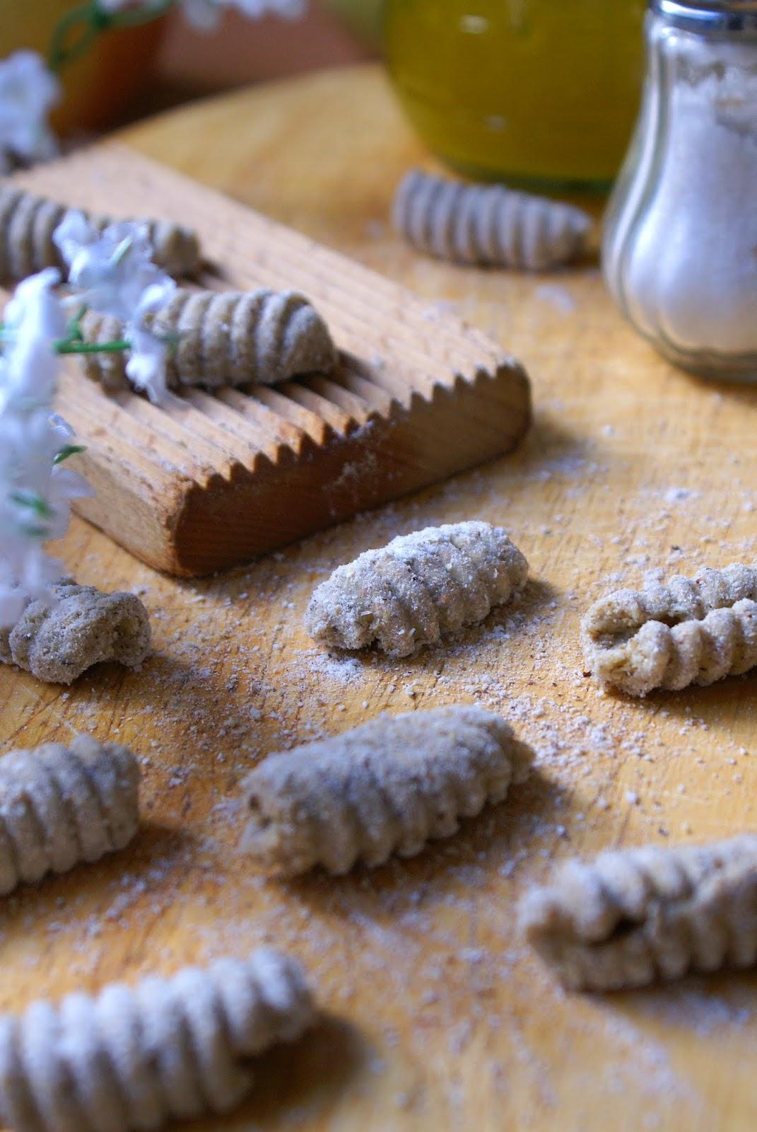 Gnocchi con grano saraceno senza glutine