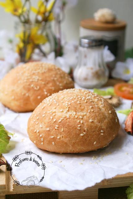 Panini per hamburger senza glutine