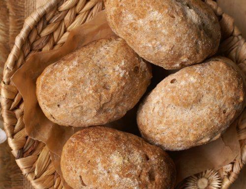 Panini integrali senza glutine con ZeroGlu