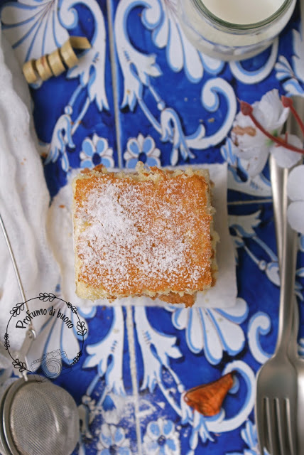 Gluten free hot milk sponge cake