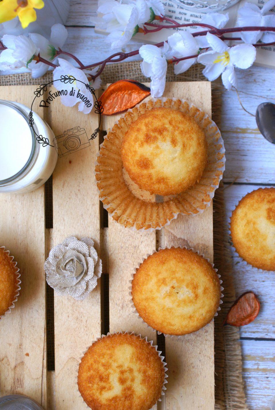Magdalenas, muffin spagnoli senza glutine