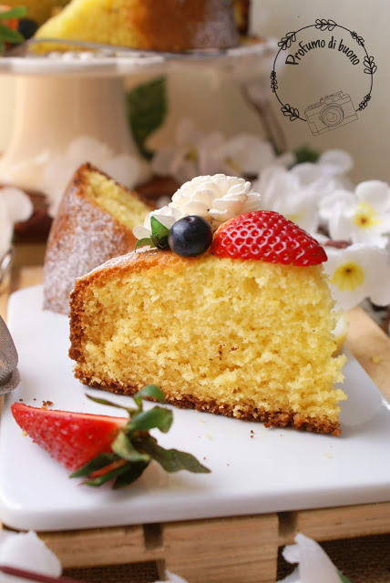 Gluten free Italian Margherita cake
