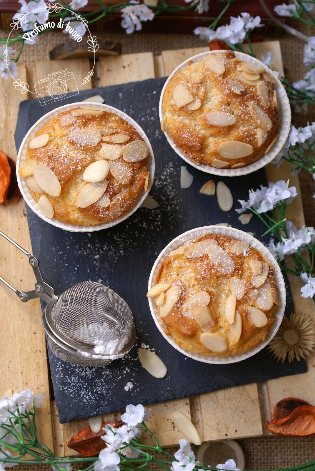 Gluten free yogurt and almond muffins
