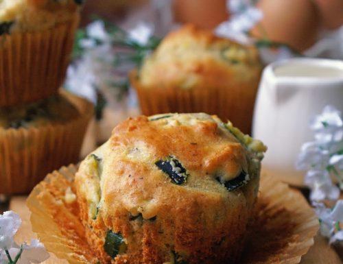 Muffin integrali alle zucchine senza glutine