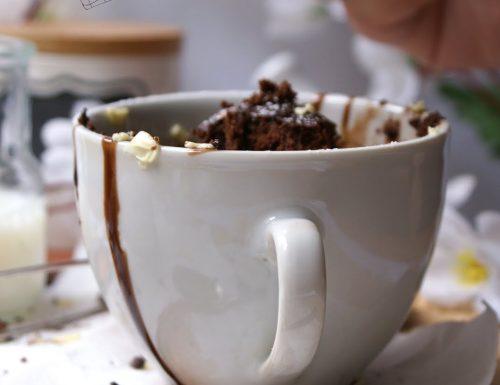 Mug Cake o torta in tazza senza glutine