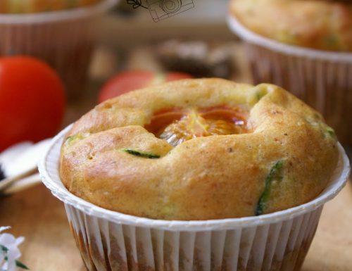Muffin salati alle verdure senza glutine