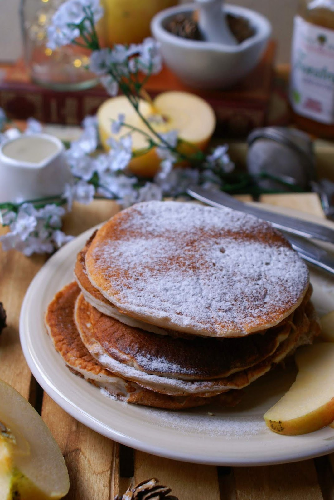 Pancake integrals of egg whites without gluten