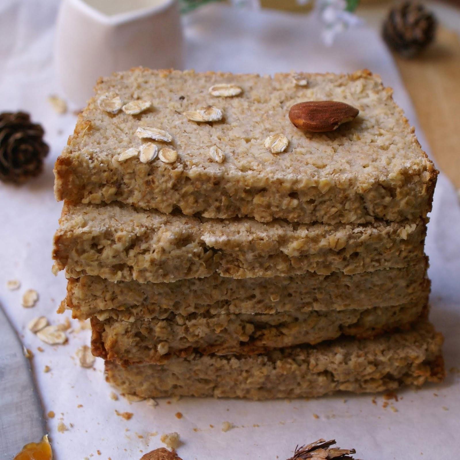 Pane ai fiocchi di avena senza glutine