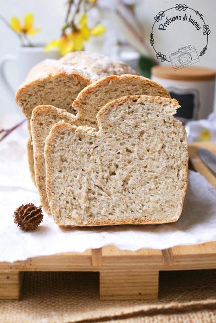 Pan bauletto senza glutine con farine naturali