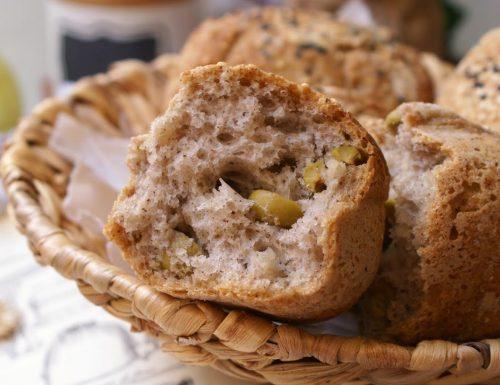 Panini rustici alle olive senza glutine