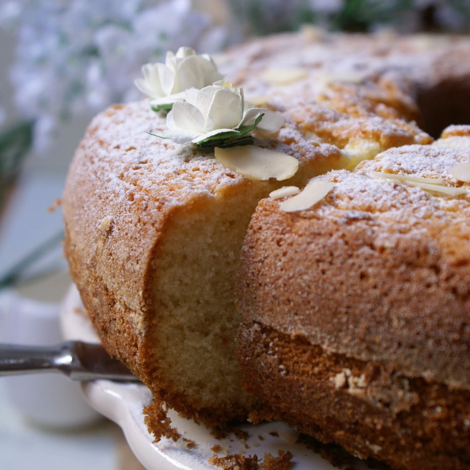 Ciambella cuor di panna senza glutine