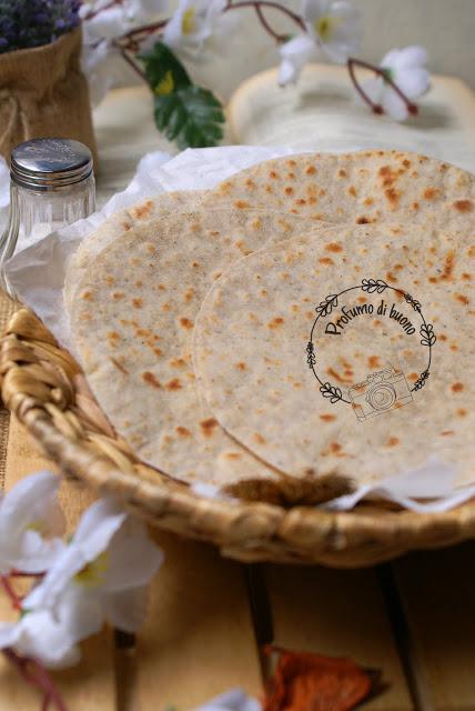 Piadine integrali senza glutine allo yogurt greco