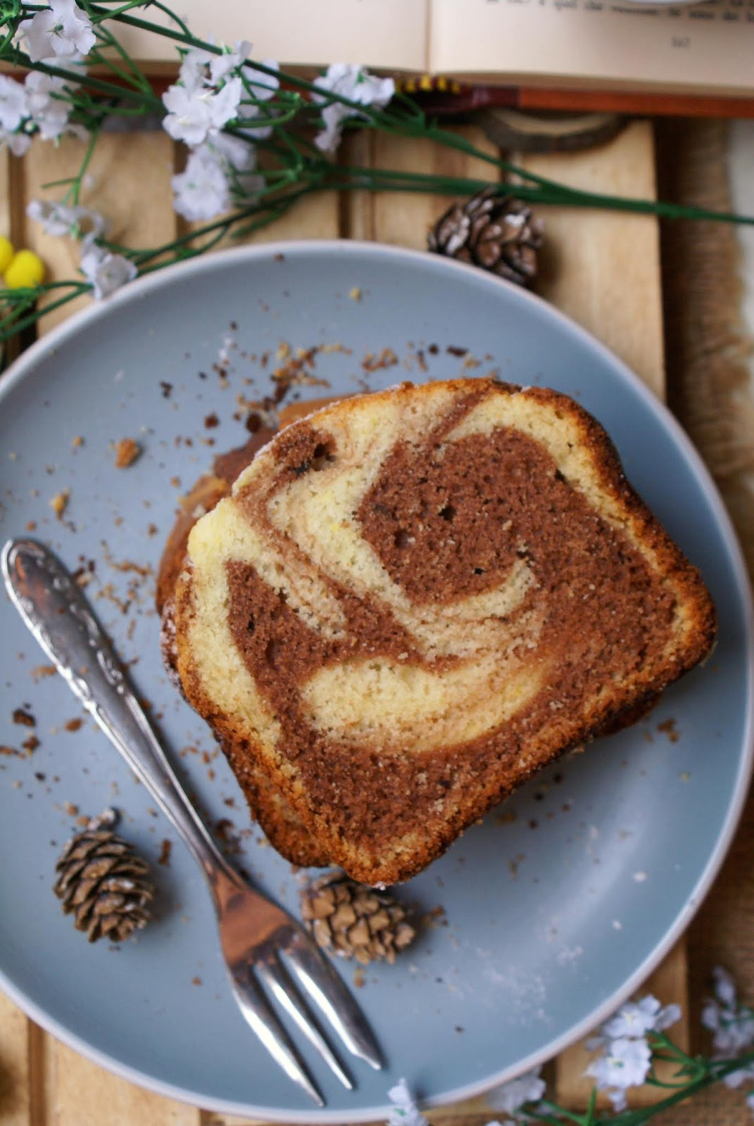 Plumcake variegato senza glutine