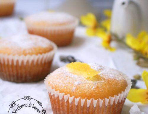 Muffin ricotta e limone senza glutine
