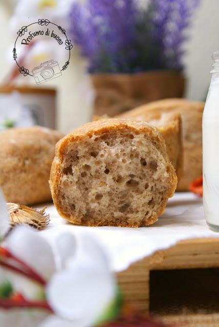 Panini rustici al teff senza glutine