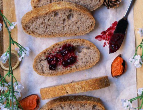 Ciabatte al grano saraceno senza glutine