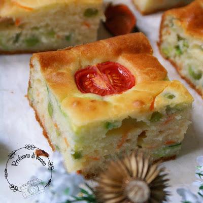 Torta salata sei vasetti senza glutine