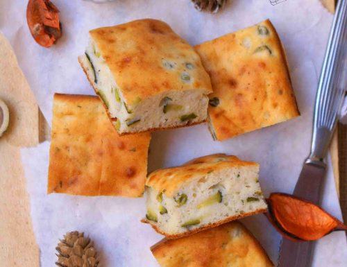 Torta salata di zucchine senza glutine