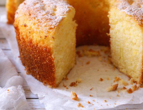 Gluten free chiffon cake (super soft!)