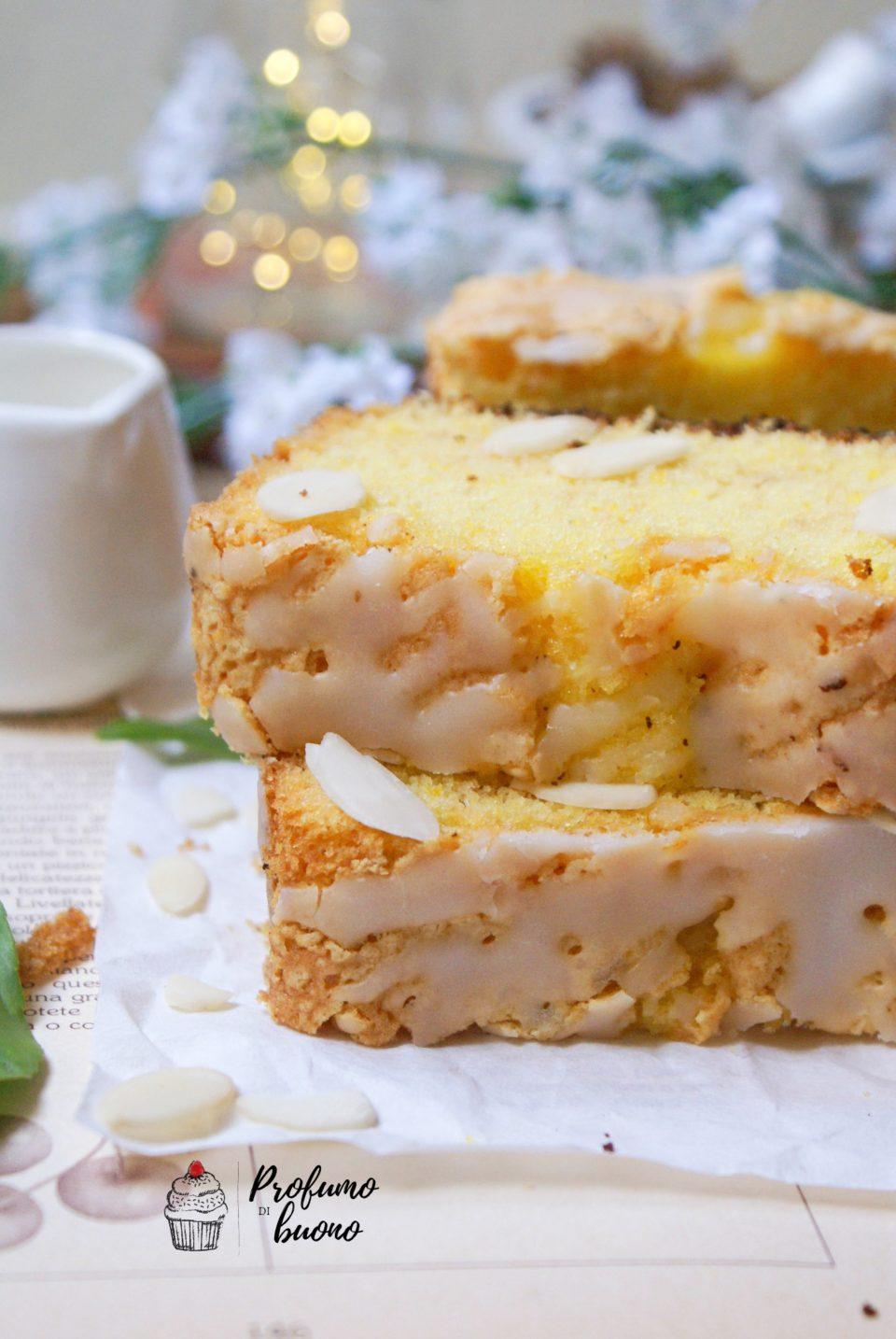 Plumcake al limone senza glutine