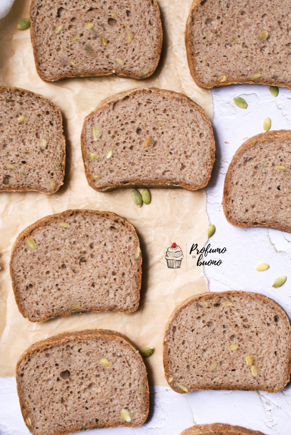 Gluten free rustic seeded bread