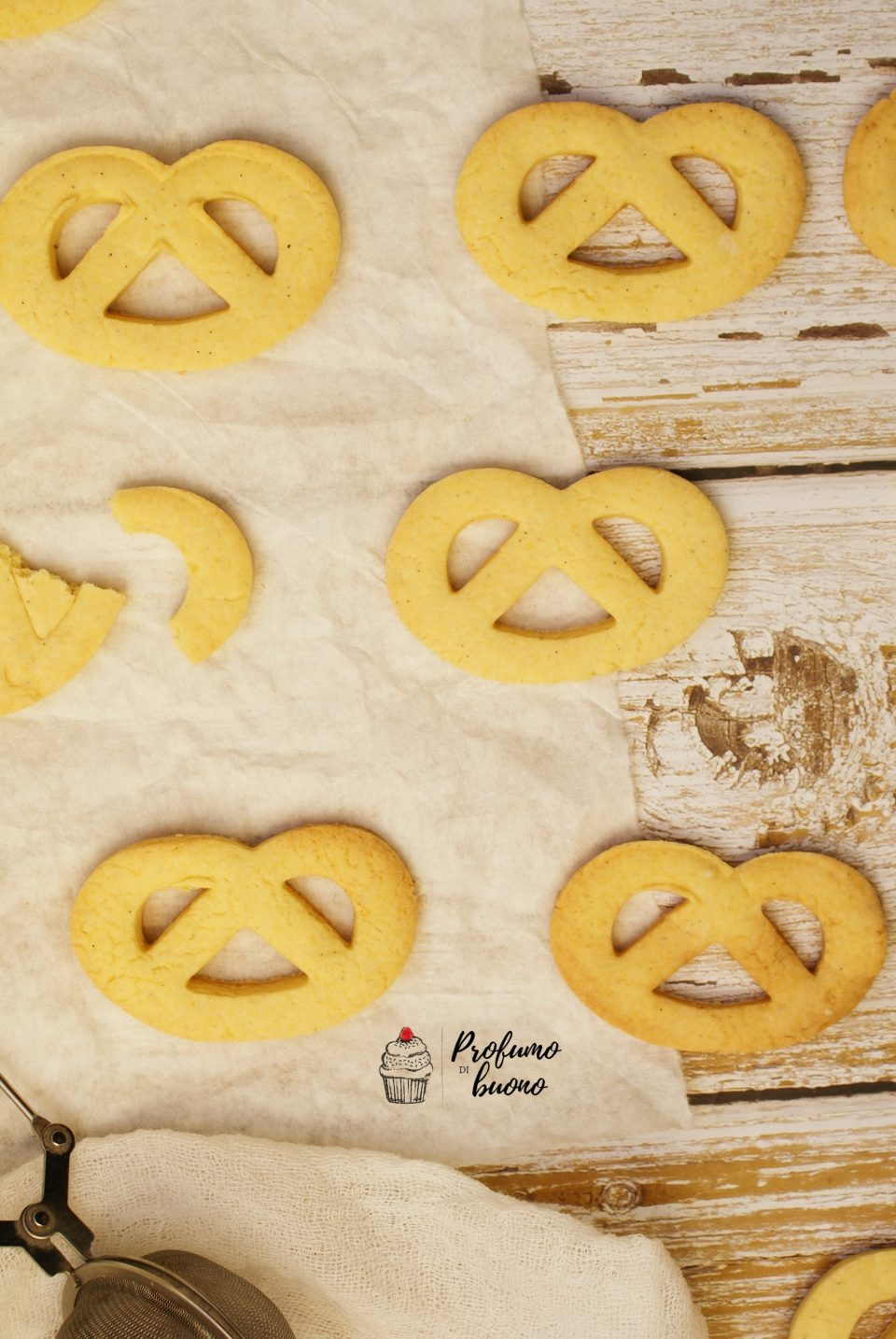 Cookies with pastry tart fast gluten