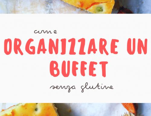 Organizzare un buffet senza glutine