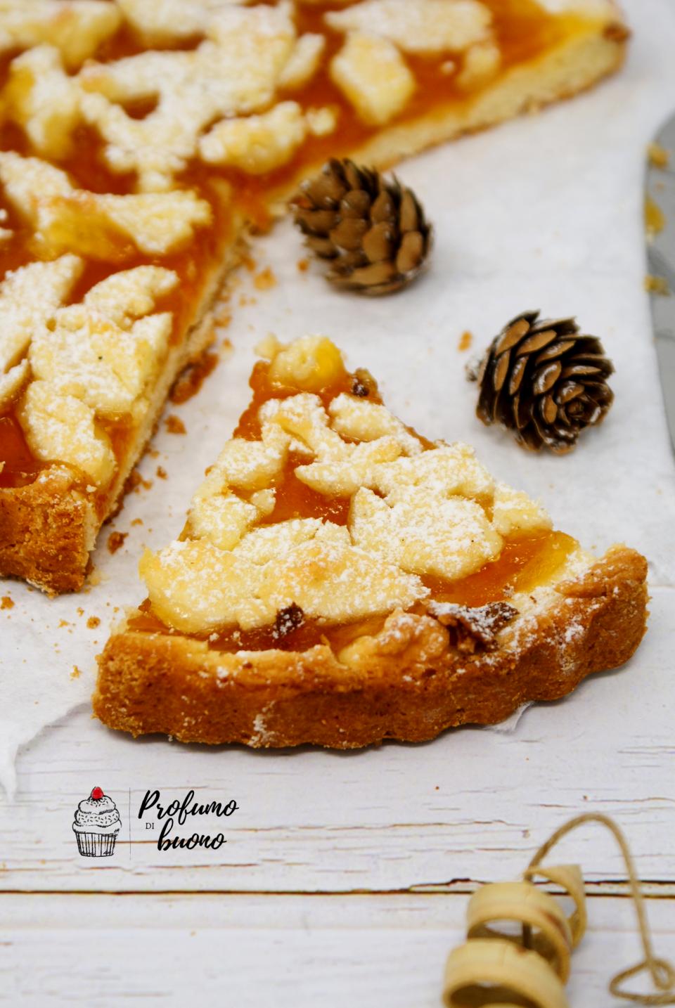 Gluten and dairy free crostata