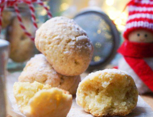 Gluten free almond snowball cookies