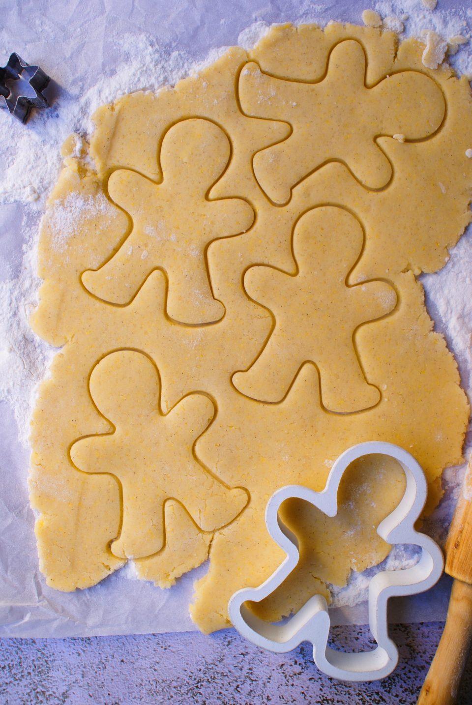 Gluten free cinnamon cookies