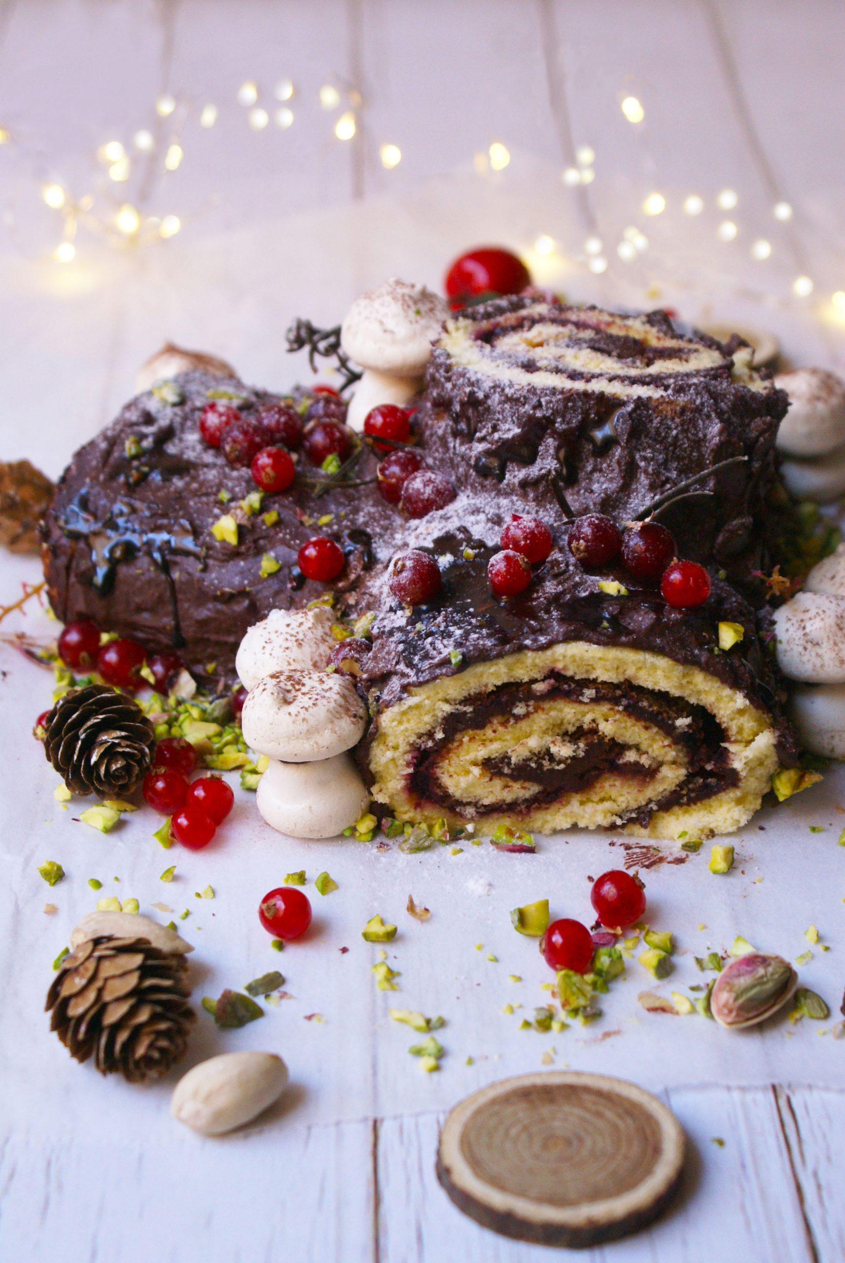 Tronchetto Di Natale X Celiaci.Tronchetto Di Natale Senza Glutine Profumo Di Buono