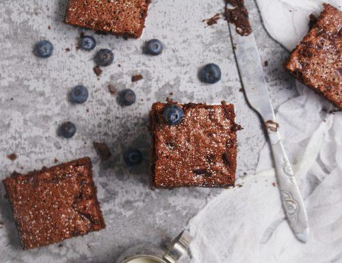 Torta al cioccolato senza glutine (con farina di riso!)