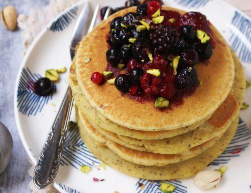 Pancake di grano saraceno senza glutine