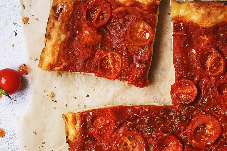 Gluten free pizza (like, for real!)