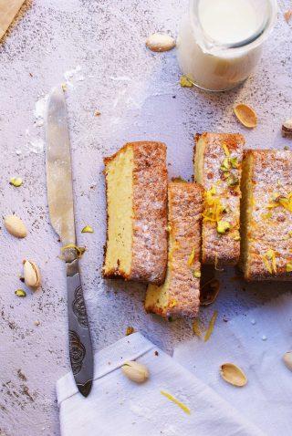 Gluten free rice flour cake
