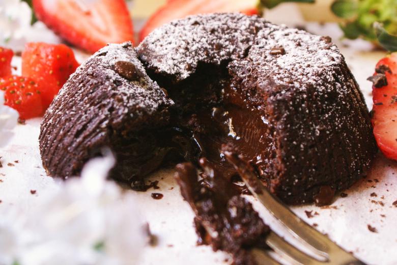 Tortino al cioccolato senza glutine