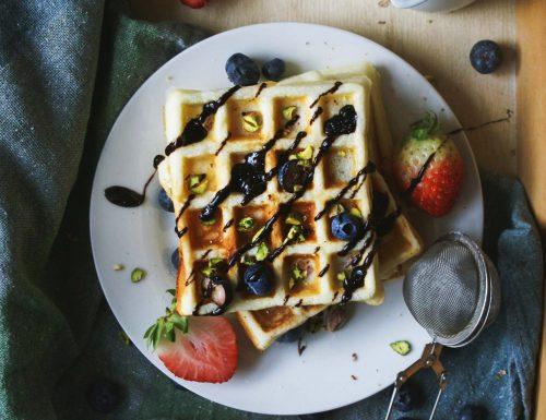 Gluten free waffles (easy peasy)