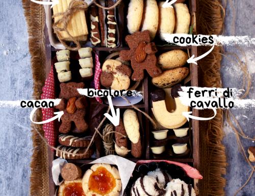 Biscotti senza glutine: una ricetta per otto gusti