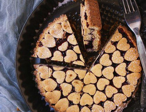 Crostata al grano saraceno senza glutine