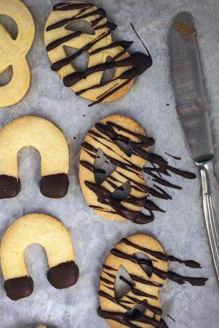 Biscotti di pasta frolla senza glutine e lattosio