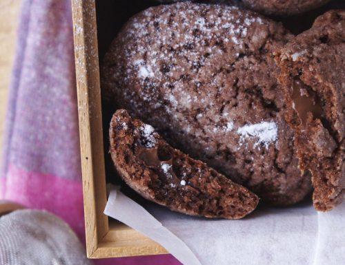 Biscotti alla Nutella ripieni
